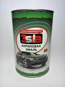 3Sila акриловая автоэмаль 225 Желтая