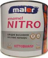Маляр нитроэмаль 2 кг белая