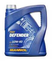Mannol Defender 10W-40 полусинтетическое моторное масло 4 л