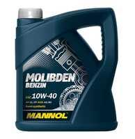 Mannol Molibden Benzin 10W-40 полусинтетическое моторное масло 4 л