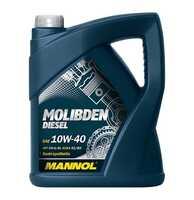 Mannol Molibden Diesel 10W-40 полусинтетическое моторное масло 5 л