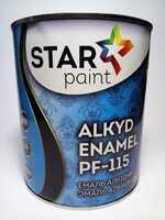 Star Paint Эмаль алкидная №76 тёмно вишнёвая 2.8 кг