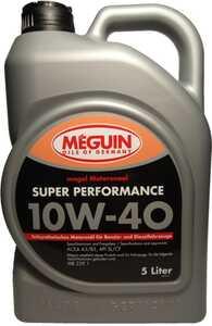 MEGUIN SYNTECH PREMIUM 10W-40 5 л